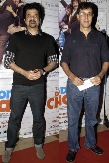 Anil Kapoor and Rajat Kapoor