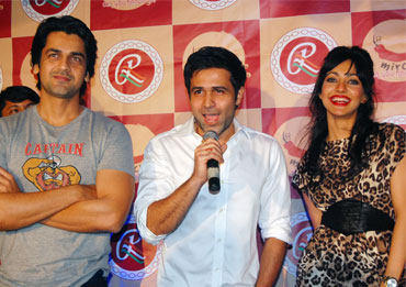 Arjan Bajwa , Emraan Hasmi and Neha Sharma