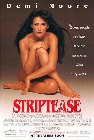A poster of Striptease
