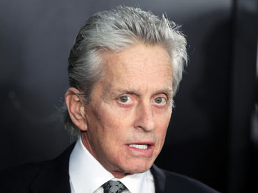 Michael Douglas arrives for the premiere of the film Wall Street: Money Never Sleeps in New York