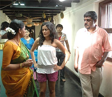 A scene from Pancharangi