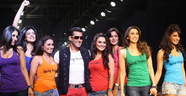 Kareena, Sushmita, Rani, Salman, Preity, Katrina, Karisma and Priyanka