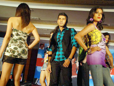 Dhyan at the fashion show