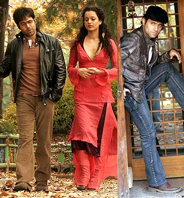 Emraan Hashmi, Kangna and Shiney Ahuja