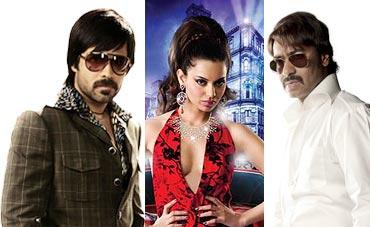 Emraan Hashmi, Kangna and Ajay Devgn