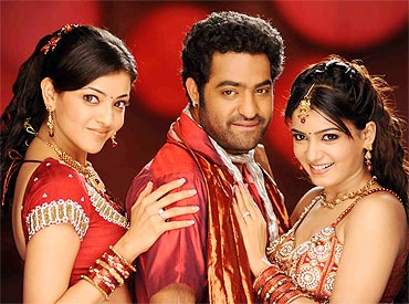 A scene from Brindavanam