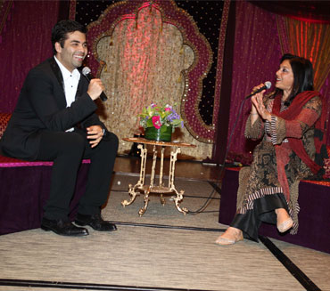 Karan Johar and Mira Nair