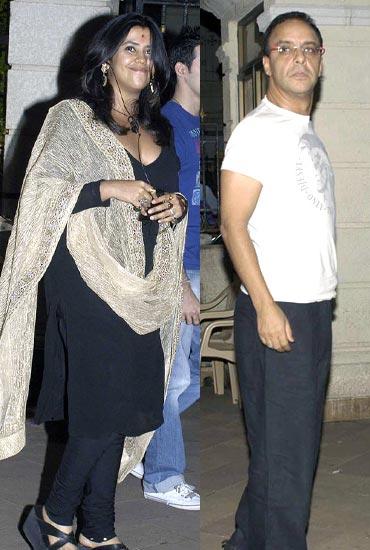 Ekta Kapoor and Vidhu Vinod Chopra