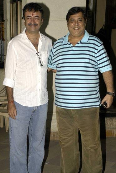 Raju Hirani and David Dhawan