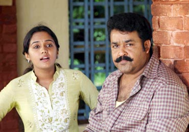 Ananya and Mohanlal in Shikaar