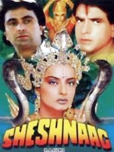 A poster of Sheshnaag