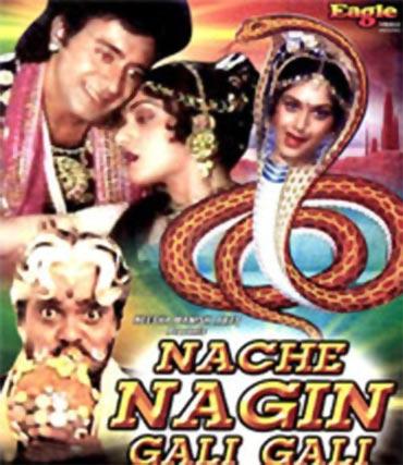 A poster of Nache Nagin Gali Gali