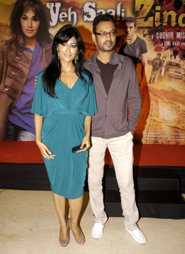 Chitrangada Singh and Irrfan Khan
