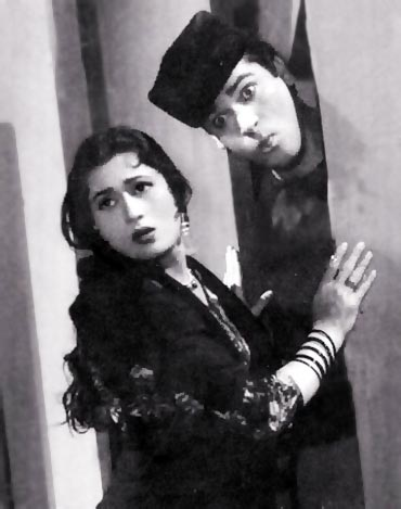 Madhubala and Shammi Kapoor