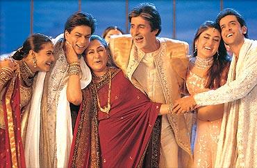 A scene from Kabhi Khushi Kabhi Gham