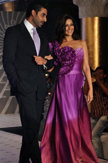 Abhishek Bachchan and Sonali Bendre