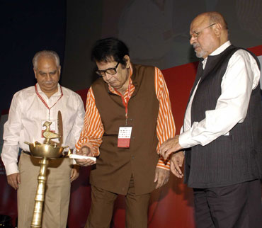 Ramesh Sippy, Manoj Kumar and Shyam Benegal