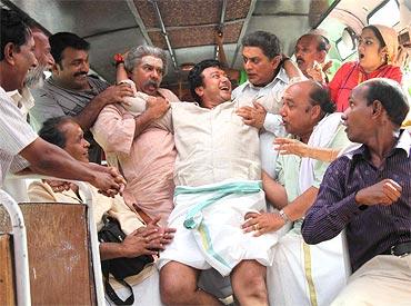 A scene from Kudumbasree Travels