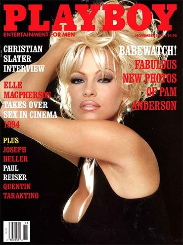 Pamela Anderson on the November 1994 cover of Playboy