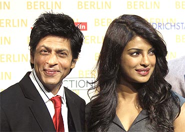 Shah Rukh Khan and Priyanka Chopra