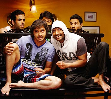 A scene from Golmaal 3