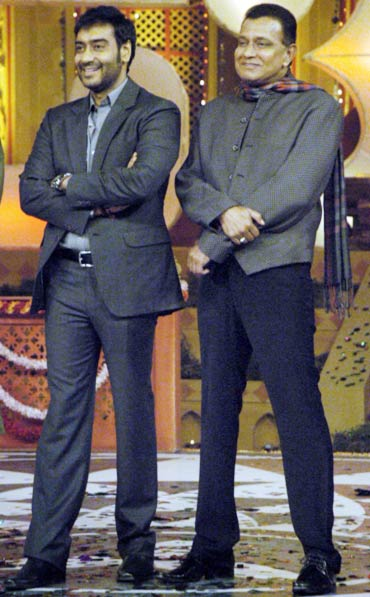 Ajay Devgn and Mithun Chakraborty