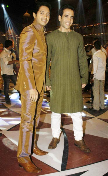 Shreyas Talpade and Tusshar Kapoor