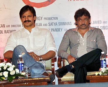 Vivek Oberoi and Ram Gopal Varma