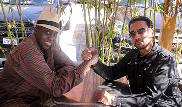 Bill Duke and Gulshan Grover