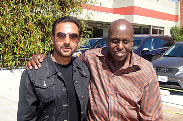 Gulshan Grover and Bill Duke