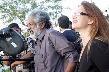 Madhu Ambat and Jennifer Lynch