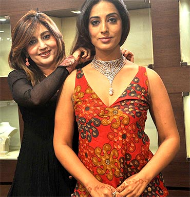 Archana Kochhar and Mahi Gill
