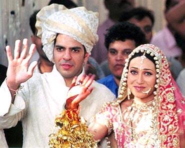 Sunjay Kapoor and Karisma Kapoor
