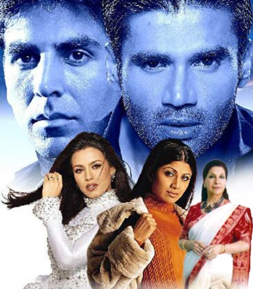 Scenes from Dhadkan