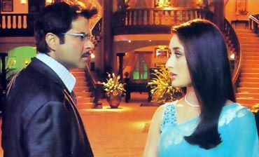 A scene from Bewafaa