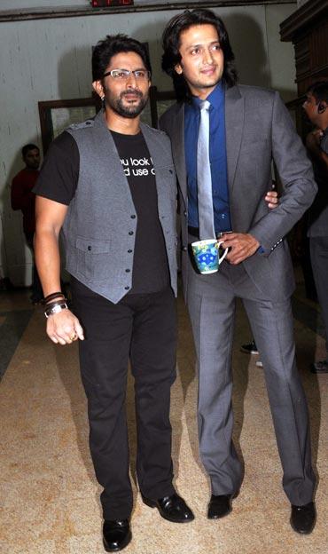 Arshad Warsi and Riteish Deshmukh