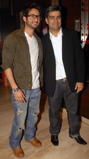 Shahid Kapoor and Siddharth Malhotra