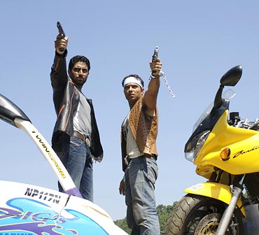 A scene from Dhoom 2