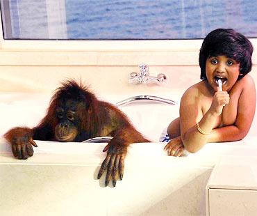 A scene from Appu Pappu