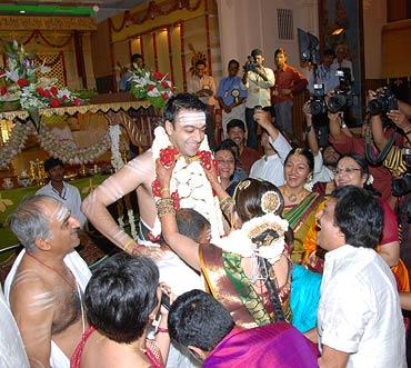 Ashwin Rajnkumar and Soundarya Rajnikanth
