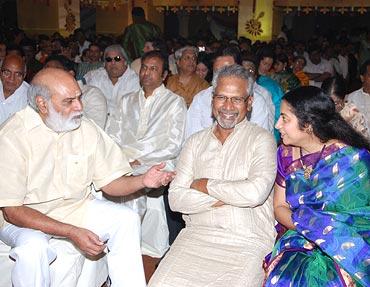 Mani Ratnam and Suhasini.