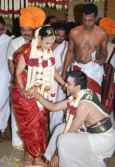 Soundarya and Ashwin