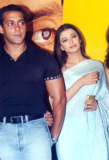 A file picture of Salman Khan and Aishwarya Rai
