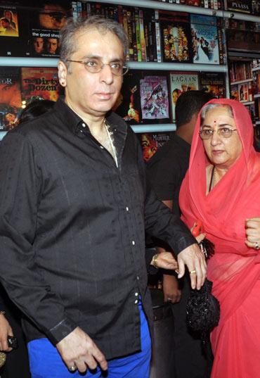 Aditya Raj Kapoor and Neela Devi Gohil
