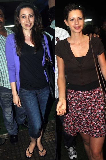 Karisma Kapoor and Kalki Koechlin