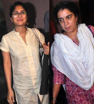 Kiran Rao and Reena