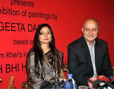 Geeta Dass and Anupam