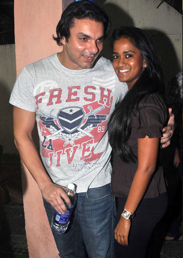 Sohail and Arpita