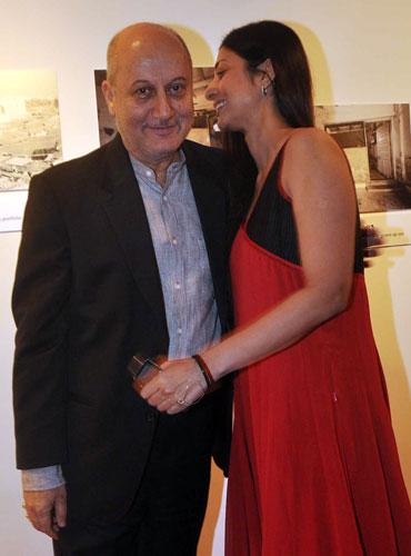 Anupam Kher and Tabu