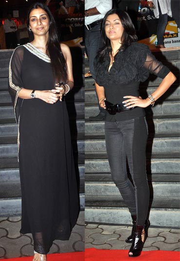 Tabu and Shusmita Sen